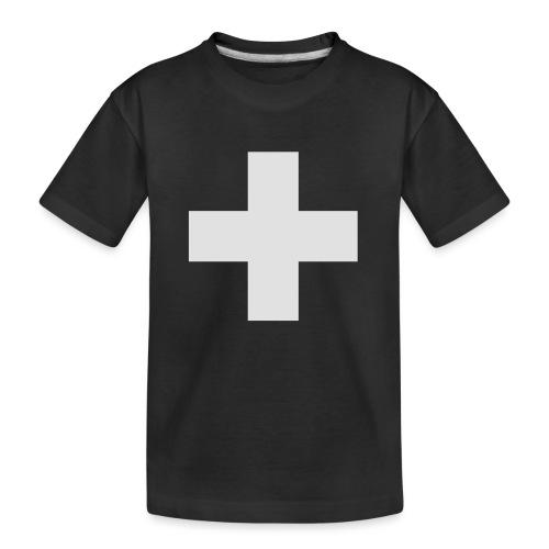 Kreuz - Teenager Premium Bio T-Shirt