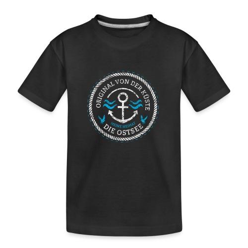Ich bin ein Original von der Ostsee - Teenager Premium Bio T-Shirt