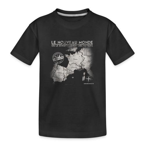 euroregions BLANC - T-shirt bio Premium Ado