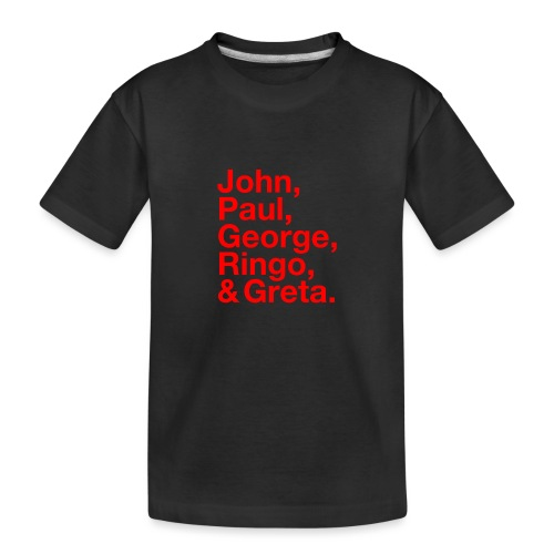 JPGRG red - Teenager Premium Bio T-Shirt