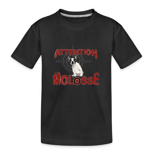 Attention Molosse Bouledogue Français - T-shirt bio Premium Ado