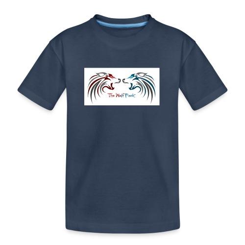 Jeffery - Premium økologisk T-skjorte for tenåringer