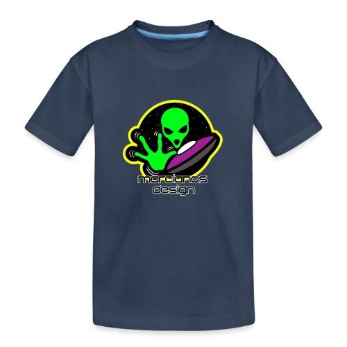 Logo Marcianos - Camiseta orgánica premium adolescente