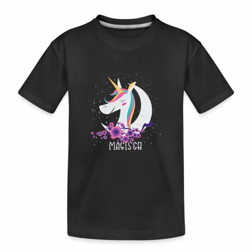 Magisches Einhorn - Teenager Premium Bio T-Shirt