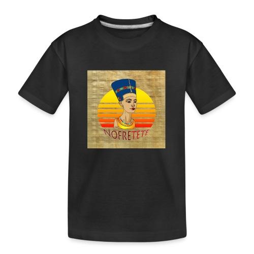 Nofrete von Ägypten - Teenager Premium Bio T-Shirt