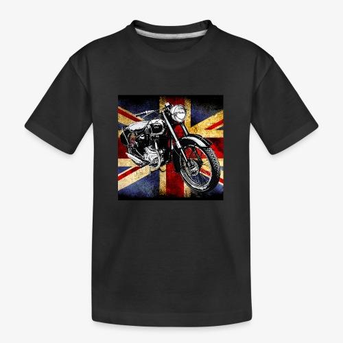 BSA motor cycle vintage by patjila 2020 4 - Teenager Premium Organic T-Shirt