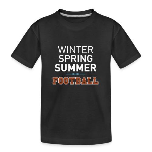 4 Seasons - American Football - Teenager Premium Bio T-Shirt