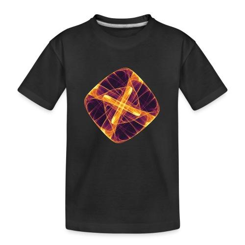 Chakra Mandala Mantra OM Chaos Star Circle 12255i - Teenager Premium Organic T-Shirt