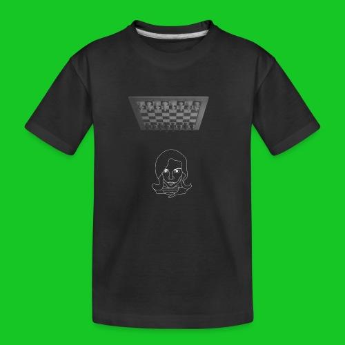 Chess in my head - Teenager premium biologisch T-shirt