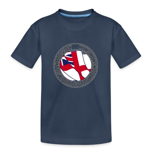 Hands to Harbour Stations (DC) - Teenager Premium Organic T-Shirt