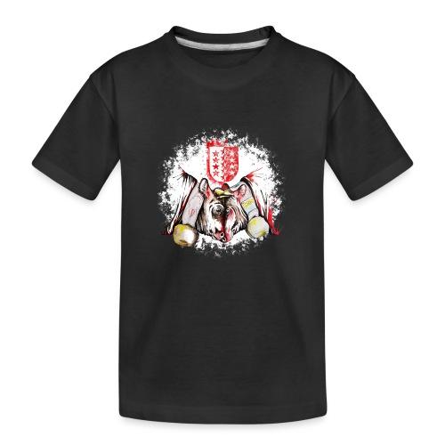 Vache d'hérens Eringer valais - T-shirt bio Premium Ado