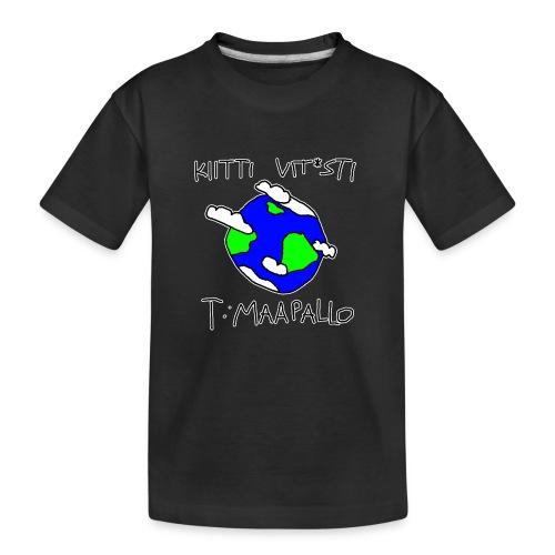 Kiitti - Teinien premium luomu-t-paita