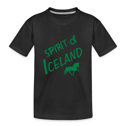 4gaits ruecken - Teenager Premium Bio T-Shirt