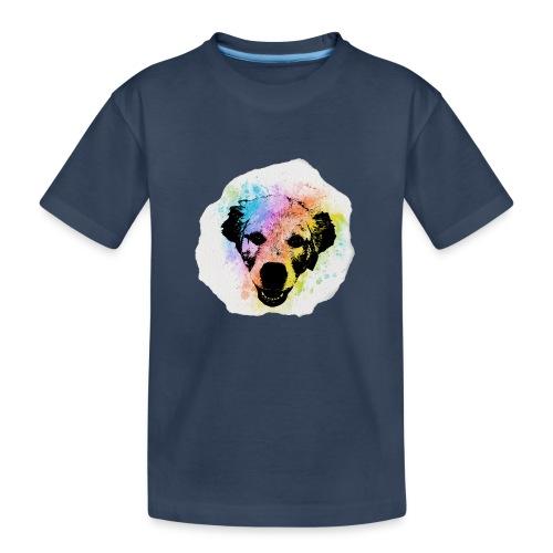Golden Retriever Aquarell - Teenager Premium Bio T-Shirt