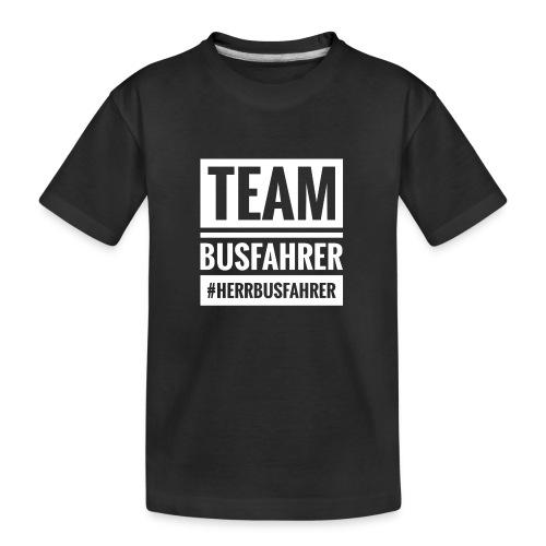 Team Busfahrer #herrbusfahrer - Teenager Premium Bio T-Shirt
