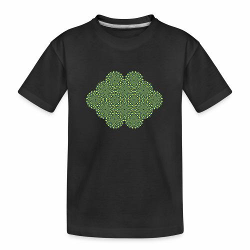 optischetaeuschung 02b - Teenager Premium Bio T-Shirt