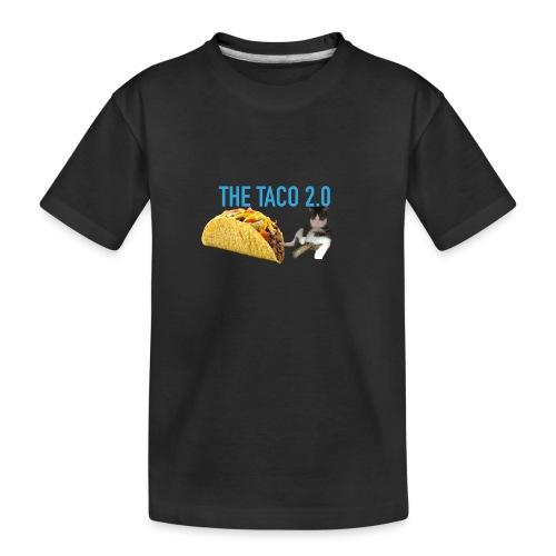 IMG 2232 - Ekologisk premium-T-shirt tonåring