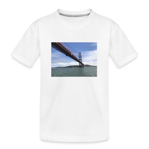 Golden Bro - Teenager premium T-shirt økologisk
