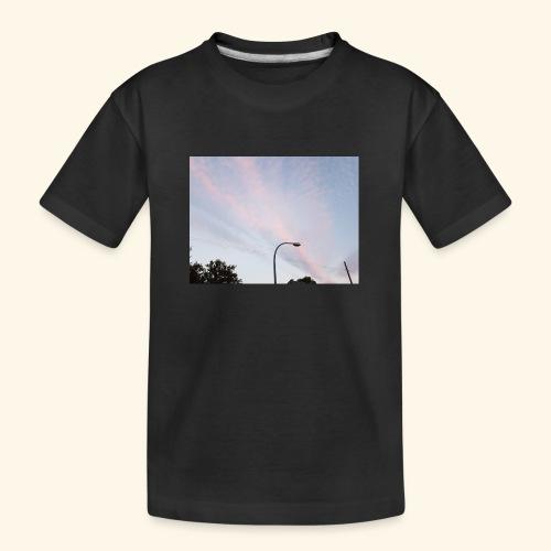 Abendhimmel - Teenager Premium Bio T-Shirt