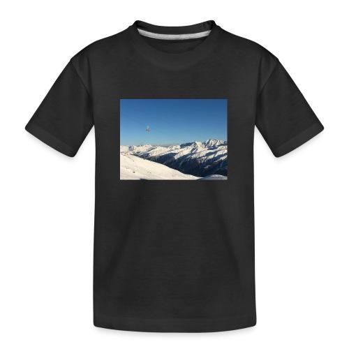 bergen - Teenager premium biologisch T-shirt