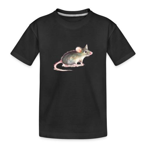 Kleine graue Maus - Teenager Premium Bio T-Shirt