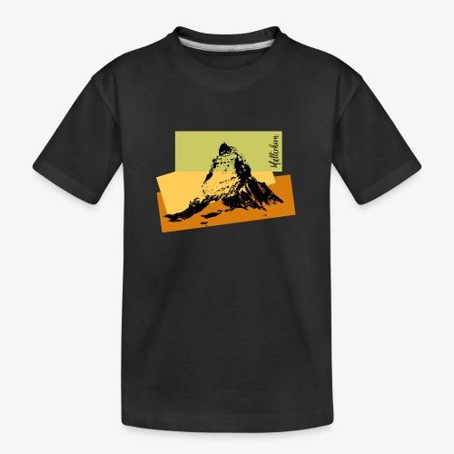 Matterhorn - Teenager Premium Organic T-Shirt