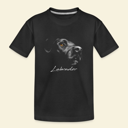 Labrador - Teenager Premium Bio T-Shirt