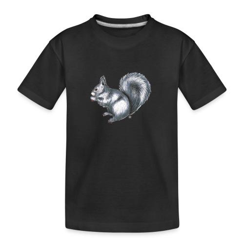Eichhörnchen - Teenager Premium Bio T-Shirt