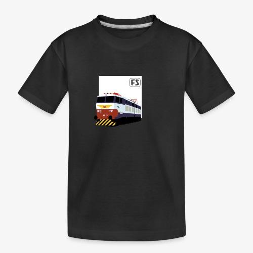 FS E 656 Caimano - Maglietta ecologica premium per ragazzi