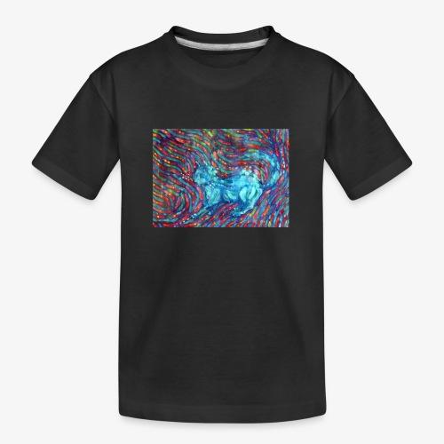 Kotek - Ekologiczna koszulka młodzieżowa Premium