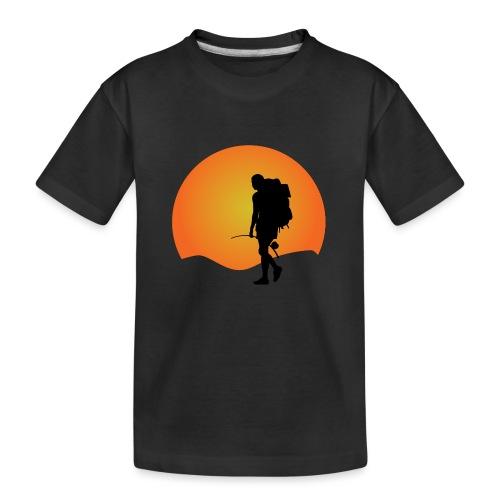 Capoeira me venceu - Teenager Premium Organic T-Shirt