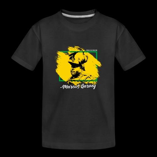 MARCUS GARVEY by Reggae-Clothing.com - Teenager Premium Bio T-Shirt