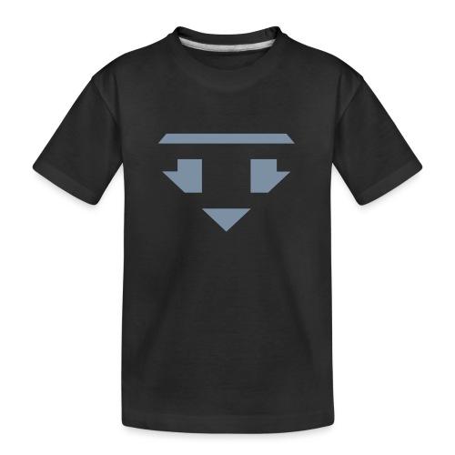 Twanneman logo Reverse - Teenager premium biologisch T-shirt