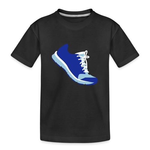 Laufschuh - Teenager Premium Bio T-Shirt