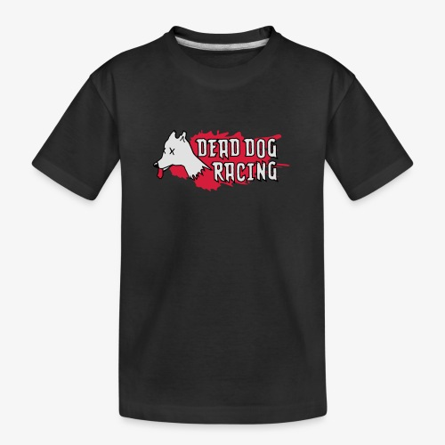 Dead dog racing logo - Teenager Premium Organic T-Shirt