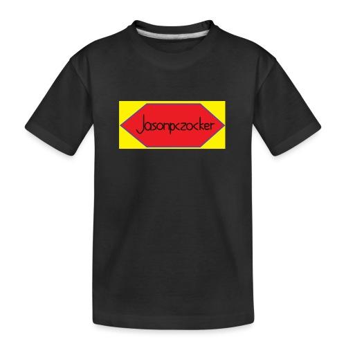 Jasonpczocker Design für gelbe Sachen - Teenager Premium Bio T-Shirt