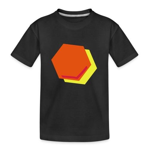detail2 - Teenager premium biologisch T-shirt