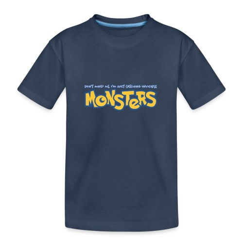Monsters - Teenager Premium Organic T-Shirt
