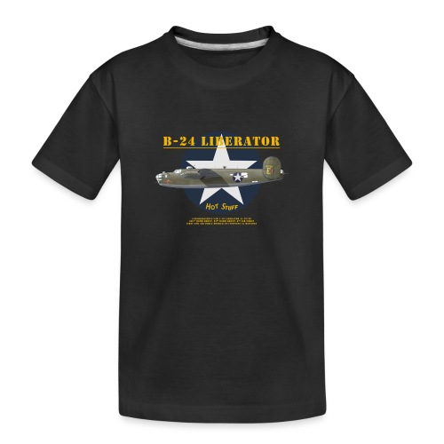 B-24 Hot Stuff - T-shirt bio Premium Ado