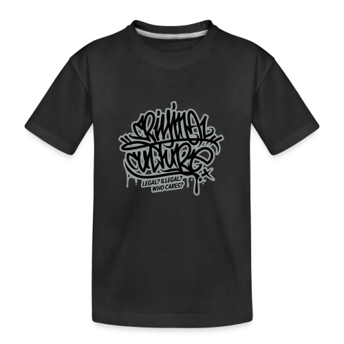 Criminal Culture - Teenager Premium Bio T-Shirt