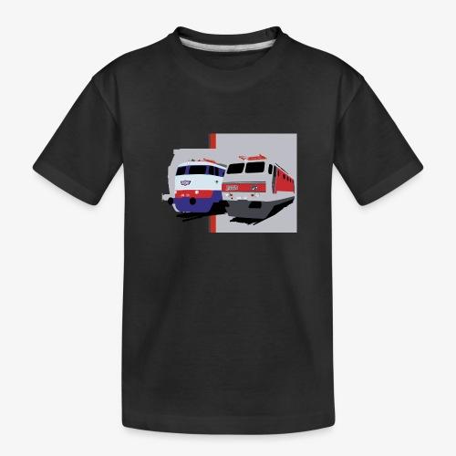 FS E444 / E444R - Maglietta ecologica premium per ragazzi