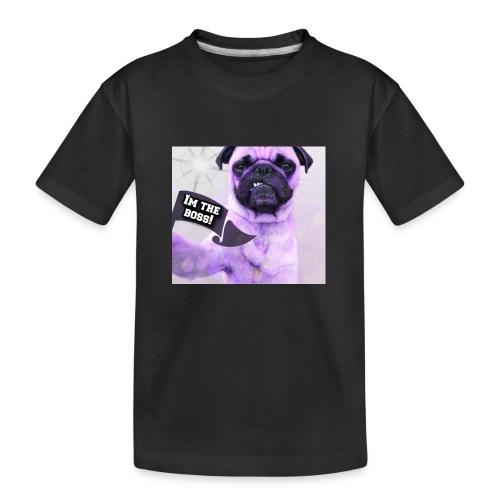 I'm the boss - Teenager premium T-shirt økologisk
