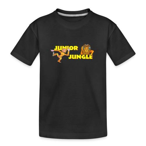 T-charax-logo - Teenager Premium Organic T-Shirt