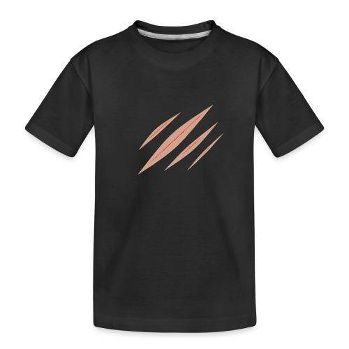 Panty Kratzer für Frauen - Teenager Premium Bio T-Shirt
