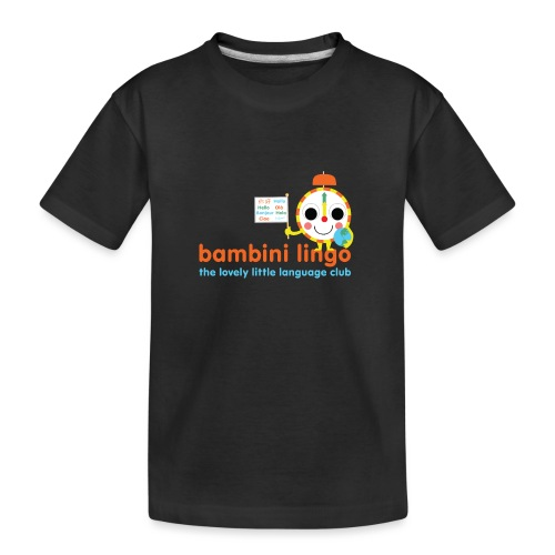 bambini lingo - the lovely little language club - Teenager Premium Organic T-Shirt