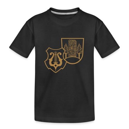 MVW Welden Logo Schwarz gross - Teenager Premium Bio T-Shirt