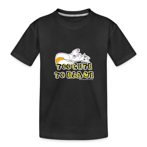 Too Cute To Blame - Teenager Premium Organic T-Shirt