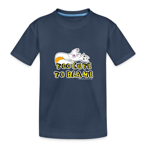 Too Cute To Blame - Teenager Premium Organic T-Shirt