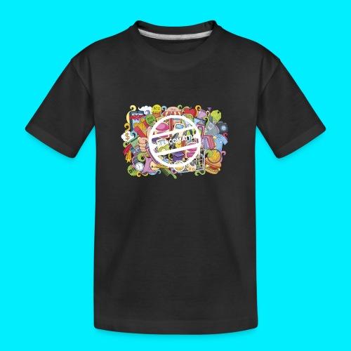 maglia logo doodle - Maglietta ecologica premium per ragazzi