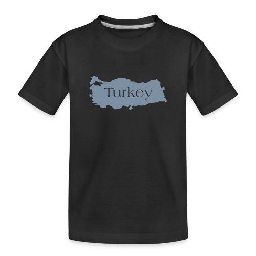 tuerkei - Teenager Premium Bio T-Shirt